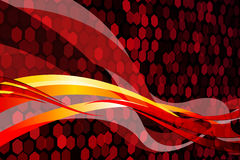 Abstract Red Stock Photography