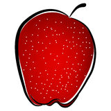 Abstract Red Apple Royalty Free Stock Photos