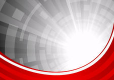 Abstract red background Royalty Free Stock Photos