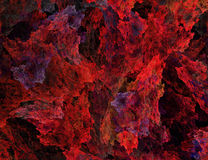 Abstract Red Background Stock Image