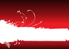 Abstract red background, banner Royalty Free Stock Image