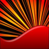 An abstract  red background Royalty Free Stock Images
