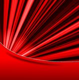 An abstract red background Stock Image