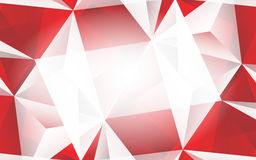 Abstract red background. Clip-art Stock Image
