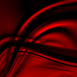 Abstract red background cloth or liquid wave Royalty Free Stock Images