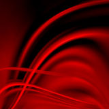 Abstract red background cloth or liquid wave Stock Photos