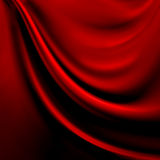 Abstract red background cloth or liquid wave Royalty Free Stock Photo