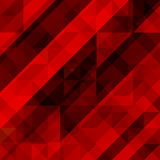 Abstract red background, colorful mosaic. Vector illustration eps 10 Stock Photos