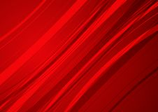Abstract red background with red curve. Vector royalty free illustration