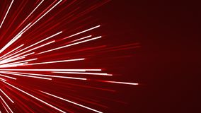 Abstract Red Background With Glowing Light Rays.  Stock Illustration