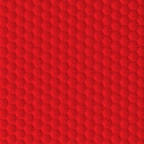 Abstract red background with hexagon shapes Stock Photo