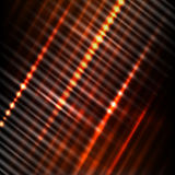 Abstract red background. Abstract background with industrial striped surface in rays of light Royalty Free Stock Photo