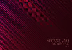 Abstract red background with lines Royalty Free Stock Photography