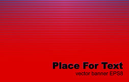 Abstract red background. Abstract red lines background. Vector banner EPS8 Stock Images