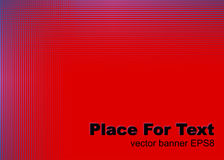 Abstract red background. Abstract red lines background. Vector banner EPS8 Stock Photos