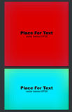 Abstract red background. Abstract red lines background. Vector banner EPS8 Stock Image
