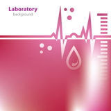 Abstract red background. Abstract red medical laboratory background Stock Photo