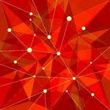 Abstract Red Background Royalty Free Stock Image