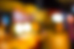 Abstract red background orange blurred lights design layout Royalty Free Stock Photo