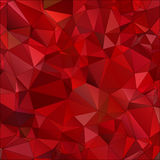 Abstract red background polygon Royalty Free Stock Image