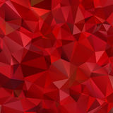 Abstract red background polygon Royalty Free Stock Photo