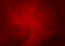 Abstract red background with shape. Vector illustration design stock illustration