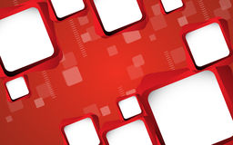 Abstract red background. Vector. Clip-art Royalty Free Stock Photos