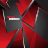 Abstract red background. Vector illustration Royalty Free Stock Images