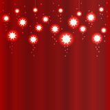 Abstract red background. Vector illustration Royalty Free Stock Photo
