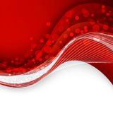 Abstract red background. Vector Illustration Royalty Free Stock Image