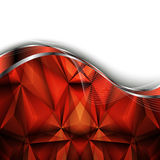 Abstract red background. Vector Illustration Royalty Free Stock Photography