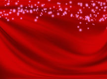 Abstract red background with wavy lines. And spots Royalty Free Stock Photo