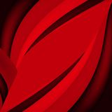 Abstract red background. Red background, wavy wallpaper, abstract wave Royalty Free Stock Image