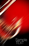 Abstract red and black background Stock Image