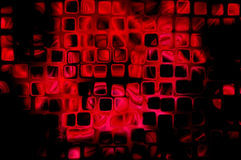 Abstract red black background Stock Images