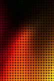 Abstract red and black circle pattern Stock Image