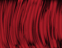 Abstract Red and Black Waves Background fot Your Design. Vector Illustration Royalty Free Stock Image
