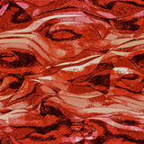 Abstract red, black and white background reminiscent of molten metal structure Stock Photo