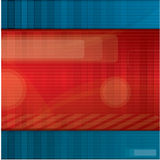 Abstract red and blue background. With lots of place for text Royalty Free Stock Photography