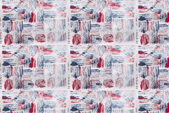 Abstract red and blue background on white paper.  Royalty Free Stock Photography