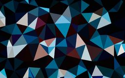 Abstract red blue black white color polygon wallpaper. Abstract red blue black white color polygon background vector illustration