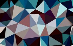 Abstract red blue black white color polygon wallpaper. Abstract red blue black white color polygon background royalty free illustration