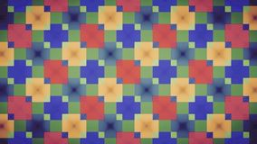 Abstract red blue green yellow block pattern wallpapwer Royalty Free Stock Photography