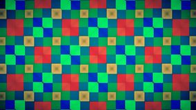 Abstract red blue green yellow block pattern wallpapwer Royalty Free Stock Photos
