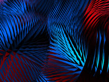 Abstract red blue triangle mosaic background Stock Photos