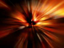 Abstract Red Blur Stock Photo