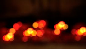 Abstract red blur bokeh background royalty free stock photography