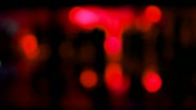 Abstract red blurred disco light, entertainment, stock video footage