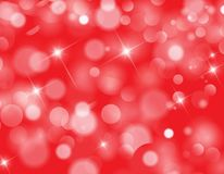 Abstract Red bokeh background texture. Red bokeh background texture design stock illustration