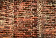 Abstract red brick wall Royalty Free Stock Photos